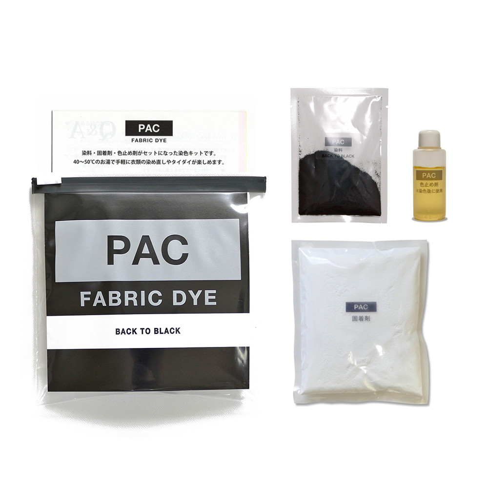 PAC FABRIC DYE BACK TO BLACK