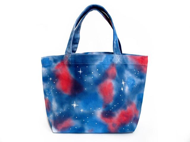galaxy ギャラクシー トートバッグ 宇宙柄