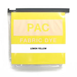 PAC FABRIC DYE col.21 LEMON YELLOW(レモンイエロー )