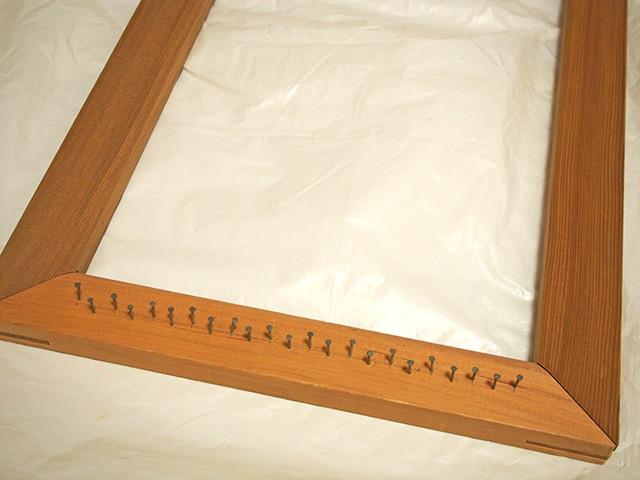 木枠 織り機