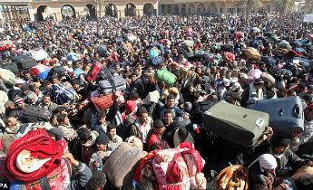Libya: refugees held in hangars following torture