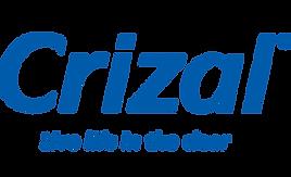 Crizal logo and slogan