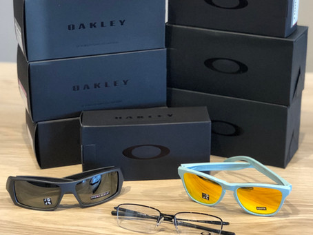 Check out new Oakley frames!