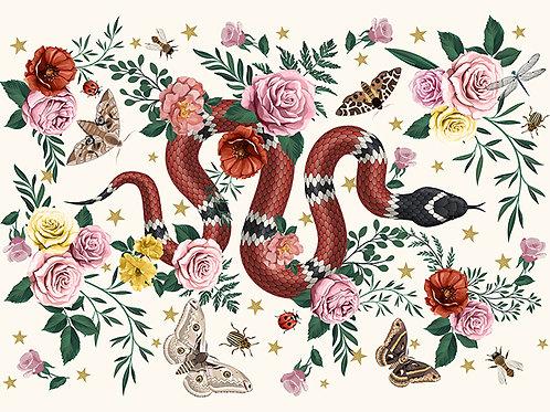 Set de Table Serpent