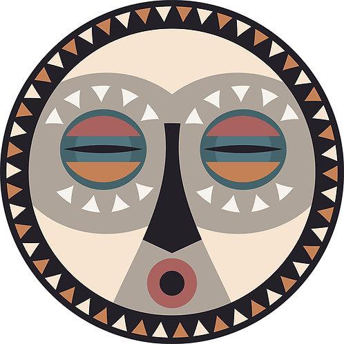 Set de Table Masque primitif