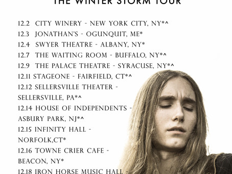 """A Winter Storm"" Tour Announced for December"