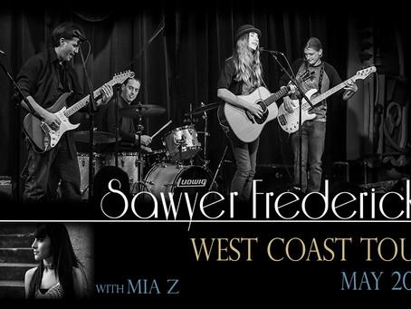 Mia Z Joining Sawyer on West Coast Tour!