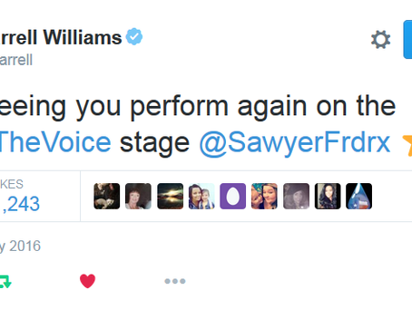"""Sawyer Performs """"4 Pockets"""" on The Voice (video)"""