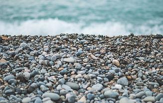 plage de galets