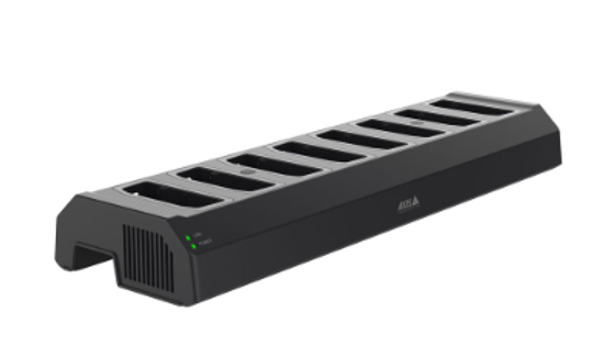 AXIS W701 Docking Station, 8 Bays, Power Adaptor Included
