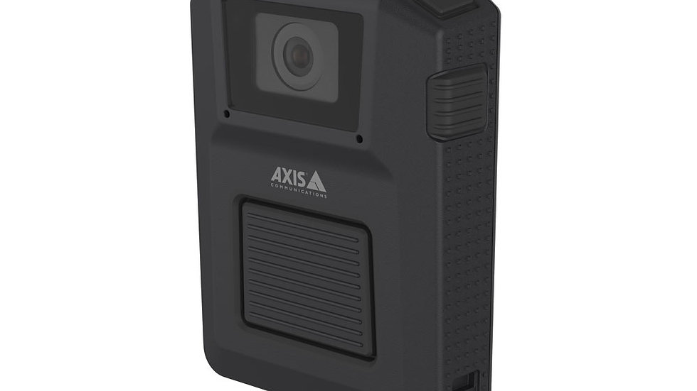 AXIS W100 Body Worn Camera, 1080p, Zipstream, Klick Fast, TW1000 Clip Mount Incl