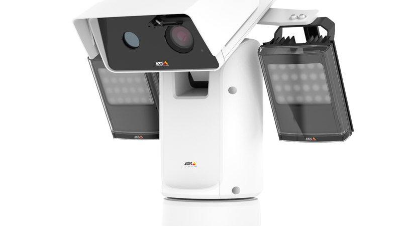 AXIS Q8741-LE Dual Thermal/ Visual PTZ Camera, 1080p, 30 fps, 35mm, 10.5deg Fixe