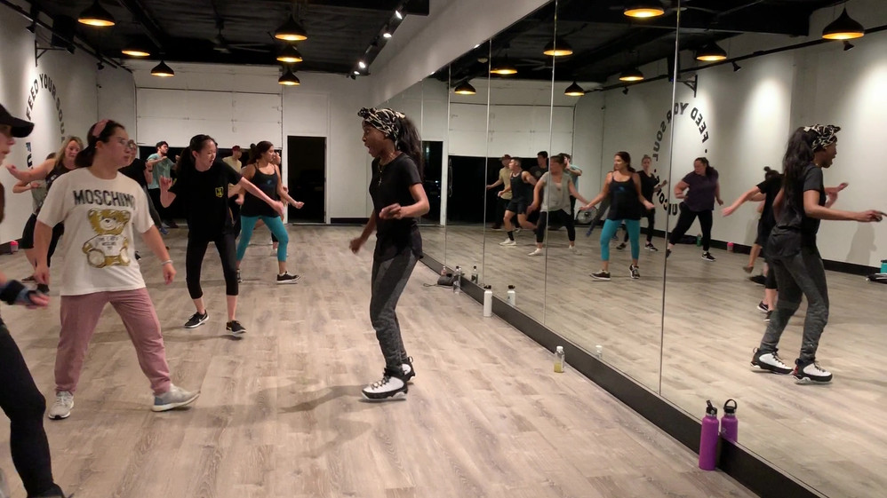 BEGINNER HIP HOP with Ashley Lauren Paul