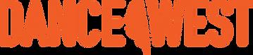 DanceWest Logo Orange.png