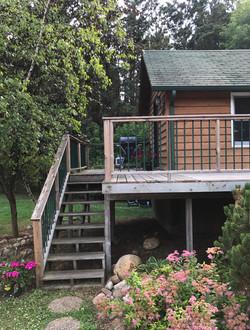 Friends & Family Cabin Outside