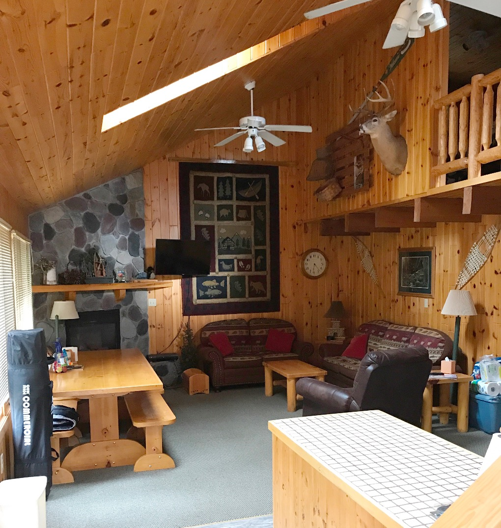 Hatlestad House Living Area