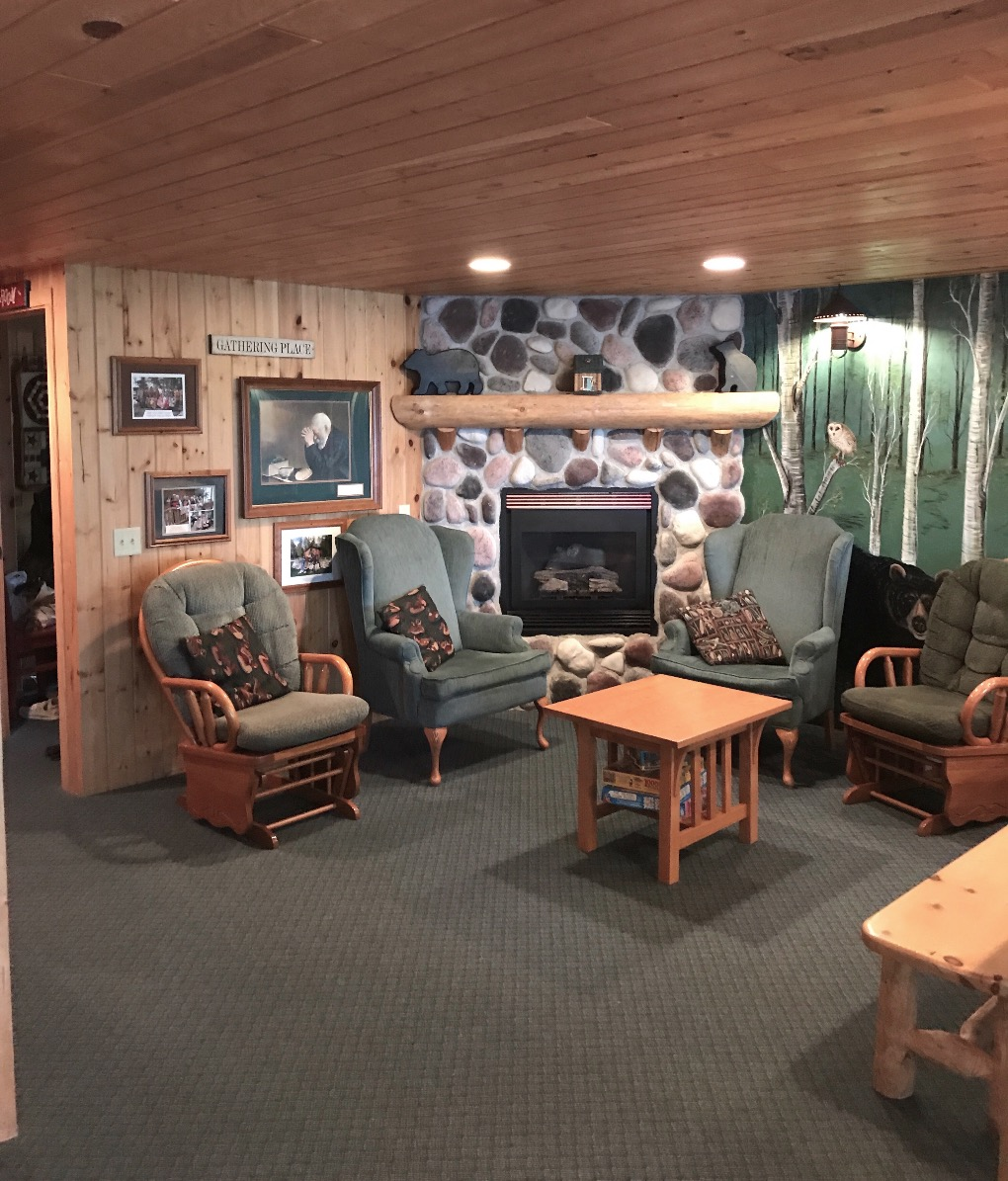 Black Bear Lodge Sitting Area
