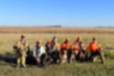 Group Hunt at Hay's Lodge