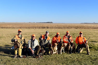 Group Hunt at Hay's Lodge