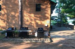 Black Bear Lodge Grills
