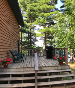 Loon's Call Outdoor Deck