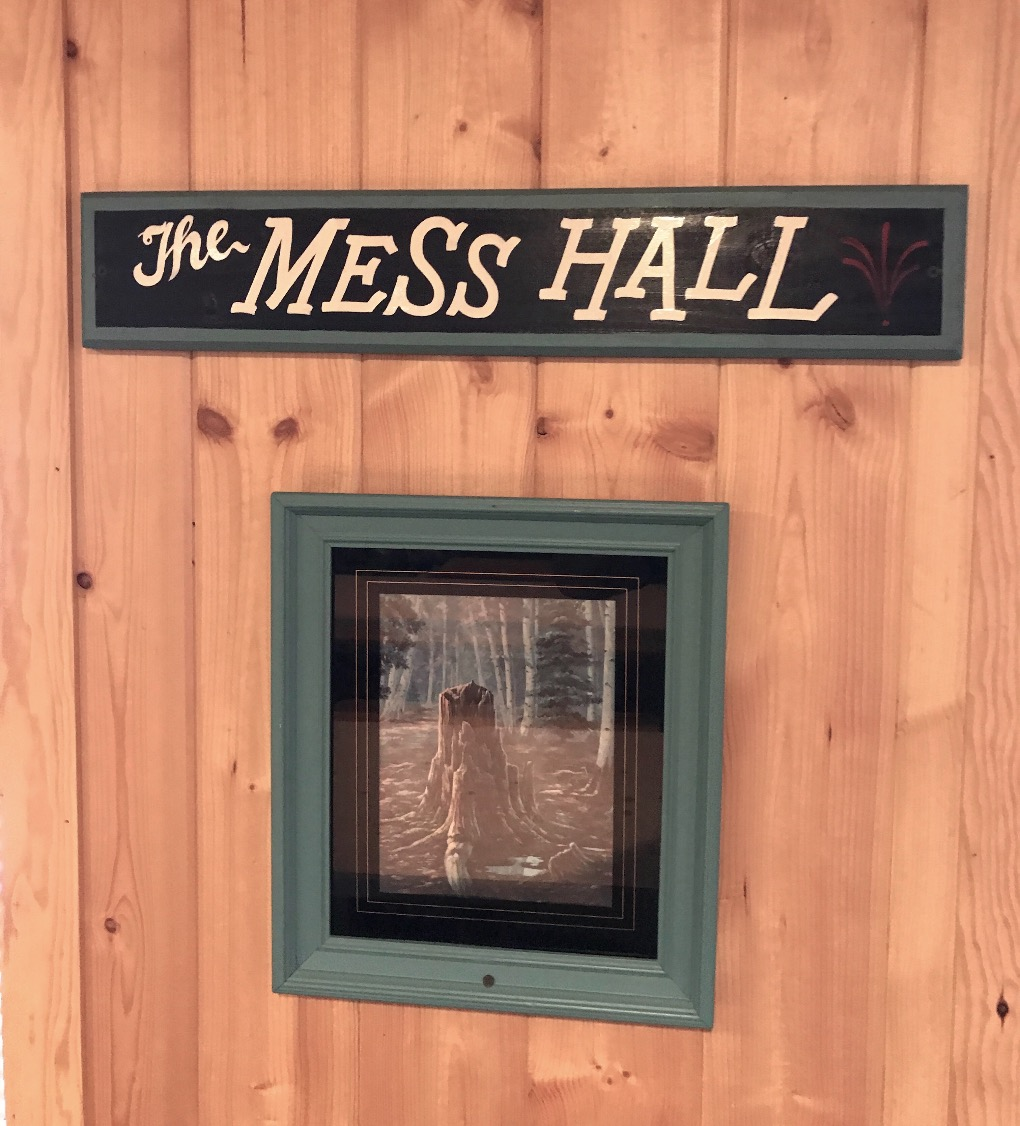 Black Bear Lodge Mess Hall