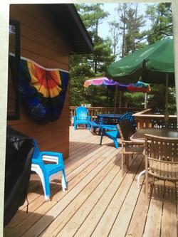 Spacious Outdoor Deck