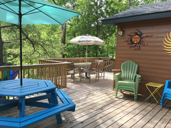 Treehouse Cabin Deck
