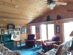 Loon's Call Loft Sitting Area