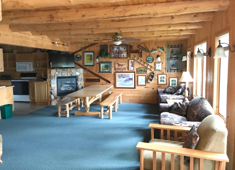 Loon's Call Main Living Area