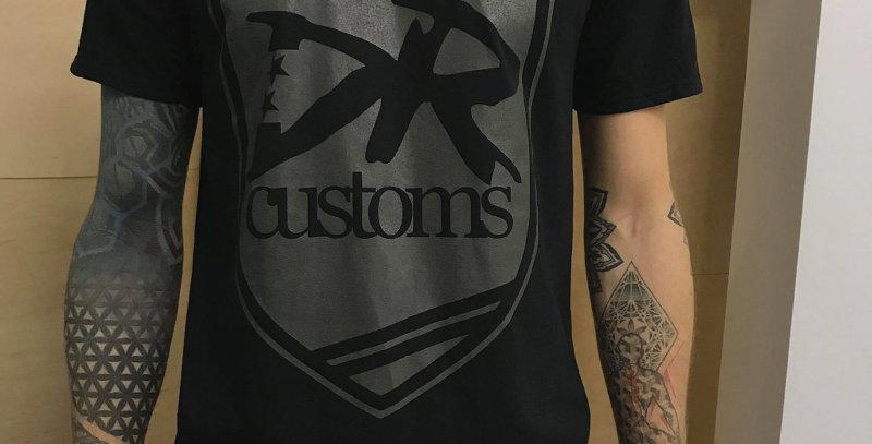 DR Customs Shirt Black