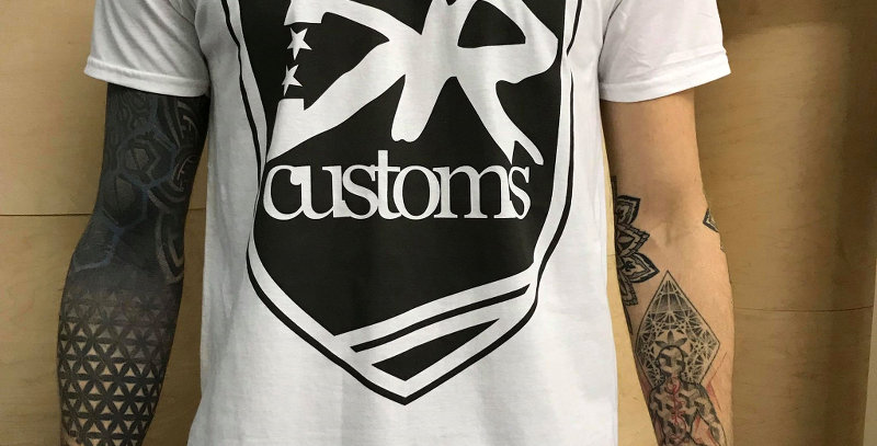 DR Customs Shirt White