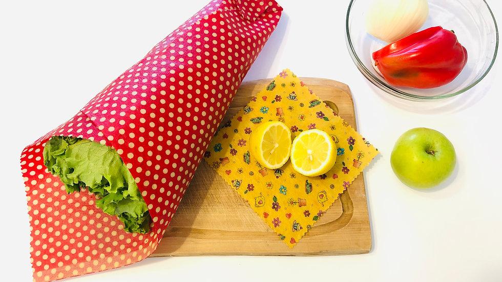 Pack XL - Flores Fondo Amarillo