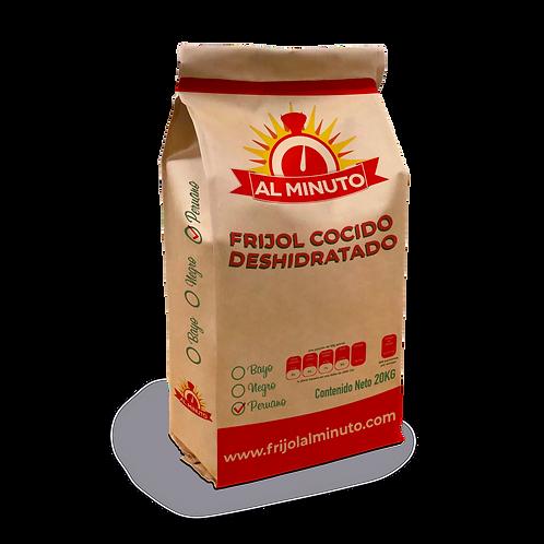 Frijol deshidratado peruano 20 kg.