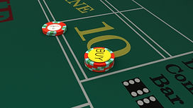 Up close view of point ten. There is five dollars on position eight and a twenty dollar buy on position five.