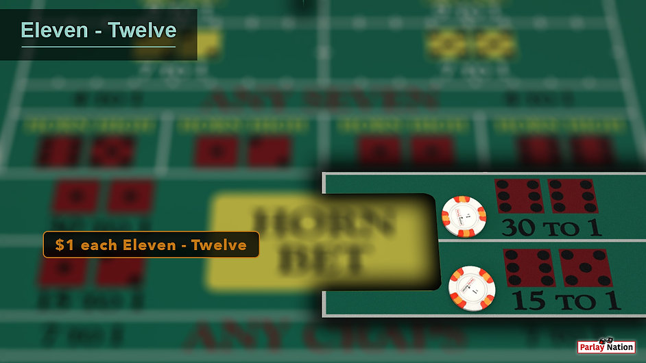 $1 each on the twelve and the yo for spot 12. Sign that says $1 each Eleven-Twelve.