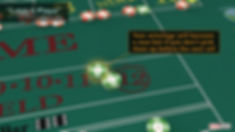 A paid bet in the field outlined with orange glow and a line pointing to it. Text saying your bet will be a new bet if not picked up.