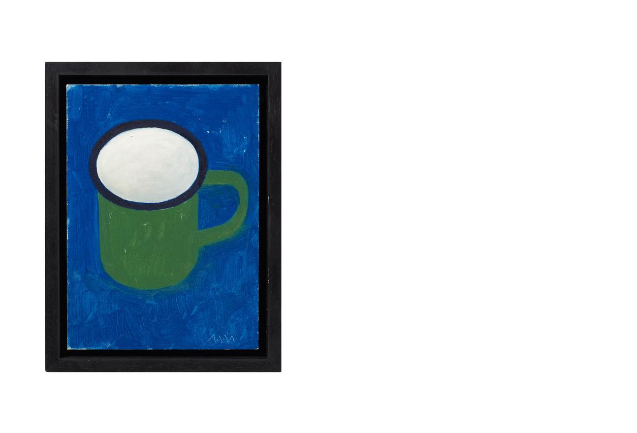 Enamel mug from Namibia