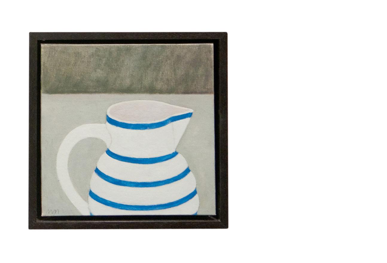 Blue banded jug III
