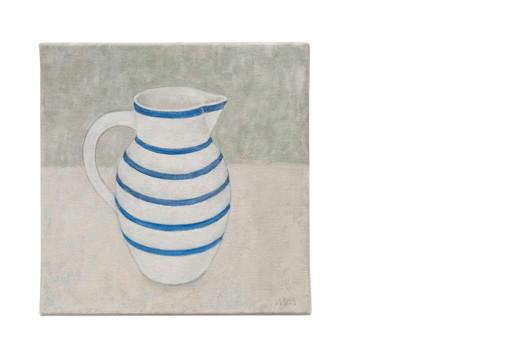 Blue banded jug I