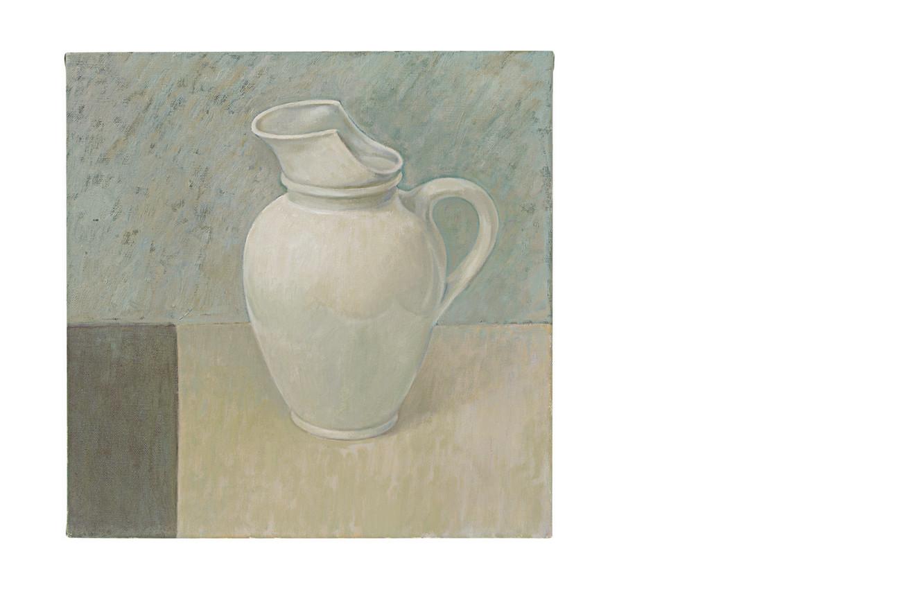 White pitcher Montjoi