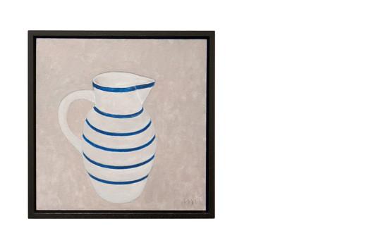 Blue banded jug II