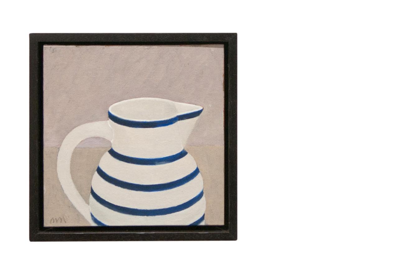 Blue banded jug IV