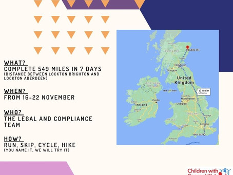 Run skip cycle hike - legal and compliance do it all!