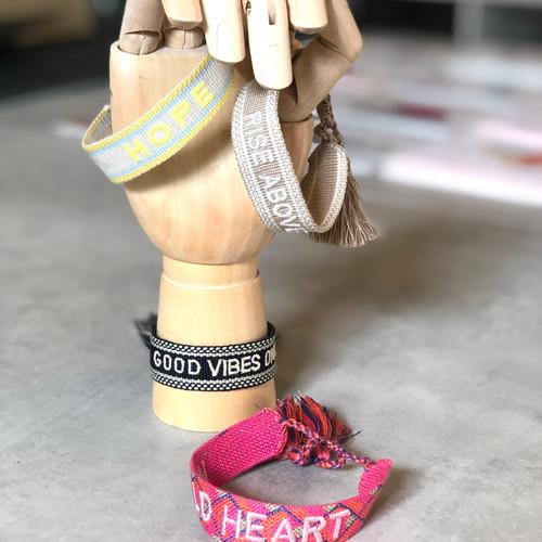 Canvas - Armbänder im DIOR Stil