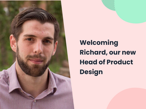 Welcoming Richard, our new Head of Product Design