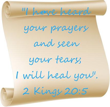 2 KINGS 20:5 CANDLE