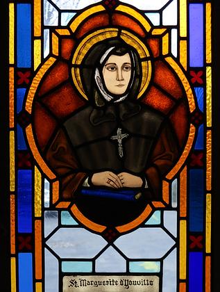 ST. MARGUERITE D'YOUVILLE CANDLE
