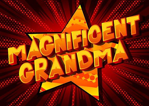 MAGNIFICENT GRANDMA CANDLE