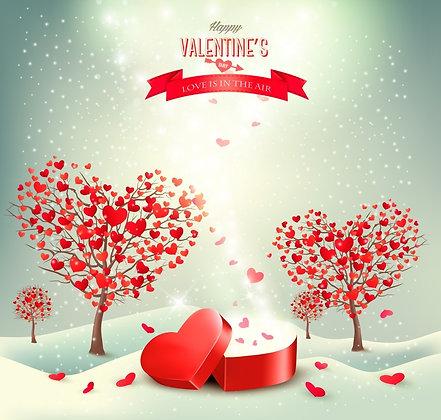 HAPPY VALENTINE'S DAY CANDLE II